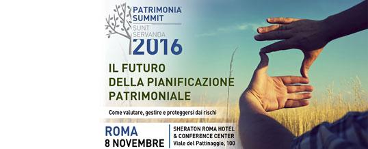 PATRIMONIA SUMMIT Sunt Servanda 2016 ROMA
