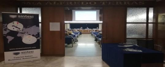 Grande successo per la Business Conference su Cipro a Palermo.