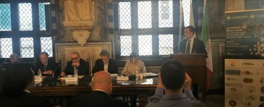 Conferenza sulla Via della Seta a Genova.
